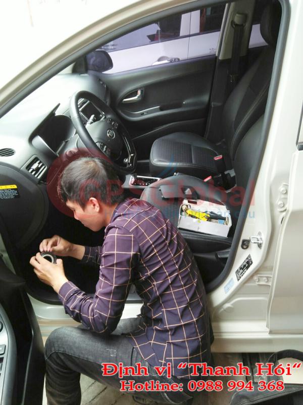 lắp đặt thiết bị định vị GPS