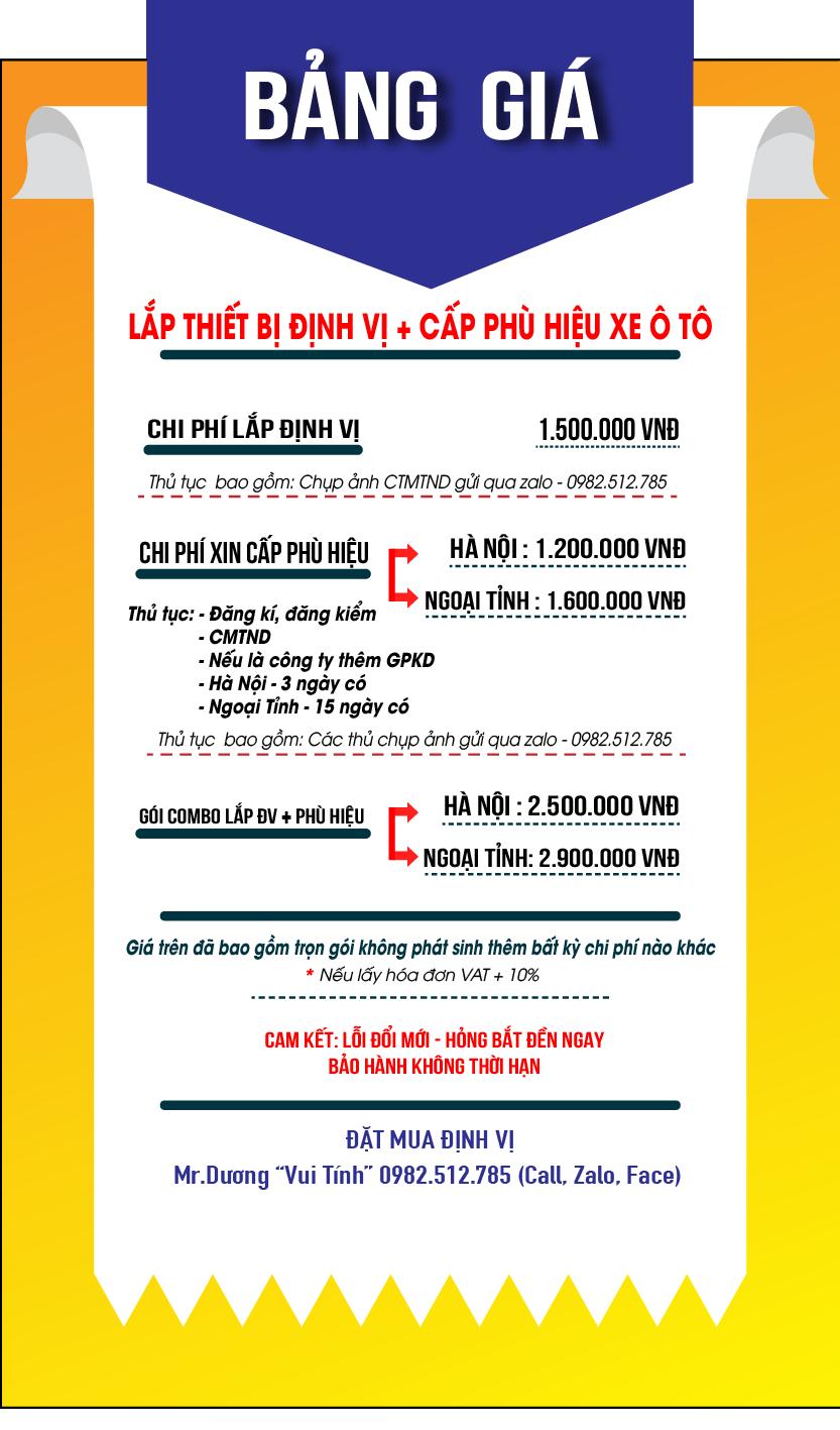 Dịch vụ làm phù hiệu xe tải tại Hà Nội và TPHCM